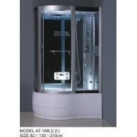 Buy cheap Foot Massage Bathroom Shower Enclosures 3 Sided Waste Drain / Syphon Included product