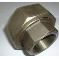 Buy cheap NPT Threaded 4 Inch Carbon Steel Pipe Fittings Carbon Steel Union SCH80 Wall Thickness product