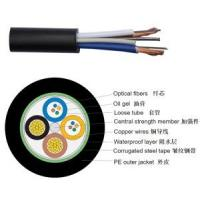 Buy cheap Hybrid Fiber Cable/Hybrid Fiber Copper Cable/ Hybrid Optical Fiber Cable Copper/OPLC Hybrid Fiber Cable product