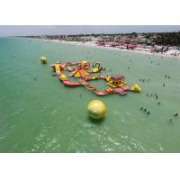 Buy cheap Mayan Beach Inflatabled Aqua Park / Floating Obstacle Course For Rental product