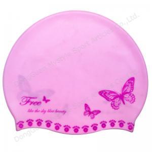 Buy cheap custom design silicone swim caps product