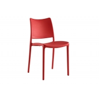 Buy cheap 81x41cm Stackable Plastic Dining Chairs For Living Room from wholesalers