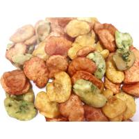 China Seaweed Coated Mixed Flavors Broad Bean Chips Fried Crispy 10- 12kg / CTN on sale