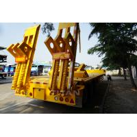 China TITAN VEHICLE widely used 30-100 tons low flatbed semi trailer for sale on sale
