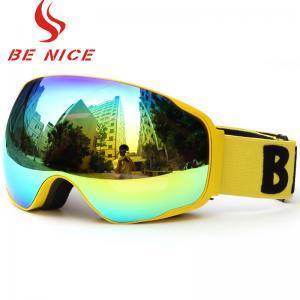 Custom Logo Otg Snow Goggles , PrescriptionSki Goggles For Mens Adults Winter Sports