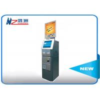 China Cash acceptor touch screen information kiosk for bus airport metro station on sale