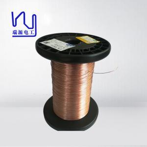China 60*0.05mm 5000V Transparent Mylar Film Covered Litz Wire For Transformer on sale