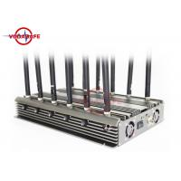 Buy cheap GPS / Lojack Cell Phone Frequency Jammer , Remote Control Jammer Stable Capability product
