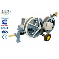 Buy cheap 5T Transmission Line Equipment Hydraulic Tensioner Machine With 1300/1500mm Bull Wheel product