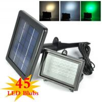 Buy cheap Color Changing Solar Flood Lights / Solar Powered Outdoor Motion Sensor LED Light product