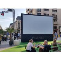 Buy cheap Advertising Blow Up Projector Screen PLAD-158 CE / UL Certificate Blower product