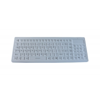 Buy cheap IP68 ruggedized industrial  2.4GHz Wireless medical grade keyboard with numeric keypad product