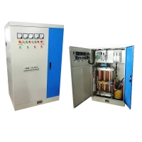 Buy cheap Servo Motor Type Class F Insulation 350KVA Industrial Voltage Stabilizer product