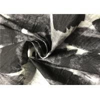 Buy cheap China Style Black And White Graphic Print Fabric With Perfect High Permeability product