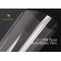 Buy cheap Anti Static PET Film For Heat Transfer Print / Silicone Coated Low Surface Resistivity product