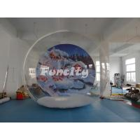 Buy cheap Outdoor Camping Clear Single Inflatable Bubble Room For Christmas Party from wholesalers