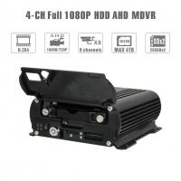Buy cheap Realtime 4Ch Mobile DVR GPS Position 1080 AHD Hard Disk Dvr Recorder HD Cycle product