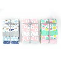 Multi Use Endurable Soft Baby Blankets Woven 100 Percent Cotton 30X40