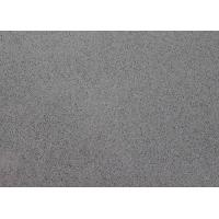 Buy cheap Flat Deep Grey Artificial Stone Countertops Strong Temperature Resistant product