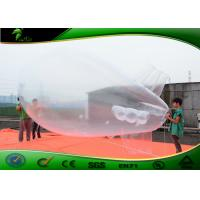 Buy cheap 6M Giant Inflatable Transparent Helium Balloon Blimp / Inflatable Airship PVC 0.4mm product