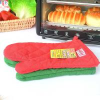 Buy cheap Eco Friendly Customized Heat Resistant Kitchen Gloves With Logo Embroidery product