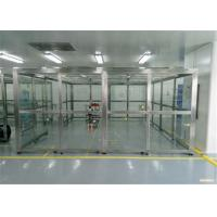 Buy cheap Class10000 Vertical Softwall Clean Room/  Modular Cleanroom With SUS 304 Frame product