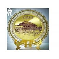 Buy cheap Artwork Souvenir Metal Gold Medal  Silver Plated Furnishing Home Decoration product