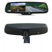 China Auto Dimming Car Rear View Mirror Monitor 8 Languages OSD Control EV-432RV-01 on sale