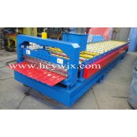 Buy cheap Blue High Speed Roof Panel Roll Forming Machine / Roll Former product