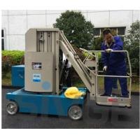 Buy cheap Indoor Outdoor Use Aluminum Work Platform / Self Propelled Boom Lift from wholesalers