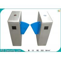 Buy cheap Stainless Steel Flap Gate IR Sensor Intelligent Security Turnstile System product