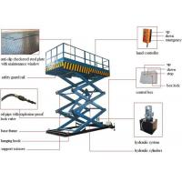 Buy cheap China Manufacturer 500kg 1000kg 2000kg 4000kg 5000kg Electric Fork Fixed Hydraulic Lifting Platform Cargo Lift product
