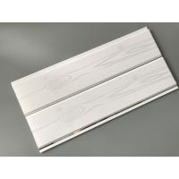 Buy cheap Printing Surface Plastic Wall Liner Panels , White Wood Paneling For Walls from wholesalers