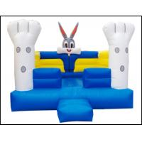 China Air Cheap Rabbit Infatable Bouncer for Kids Commercial Animal  Rabbit Theme Inflatable Bouncer for Sale on sale