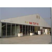 Buy cheap Outdoor Clear Span Tent Glass Wall  For Commercial And Church Activities product