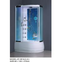 Buy cheap Safety Complete Shower Cabins Left / Right ABS Complete Shower Room With Tray product