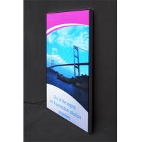 Buy cheap SEG Fabric Frames LED Light Box Textile Fabric Single Sided Custom Color product