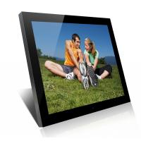 Buy cheap Acrylic 19 Inch High Resolution Digital Picture Frame With Clock And Calendar product