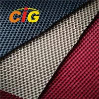 Buy cheap Colorful  Home Textile Fabric 100% Polyester Sandwich Mesh Fabric product