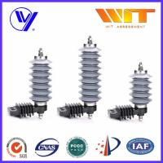 Buy cheap 10KA Polymer Surge Protection Varistor Lightning Arrester 18KV product