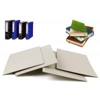 Buy cheap Solid 1100gsm Book Binding board , Mixed Pulp Hard Paper Grey Board Sheets from wholesalers
