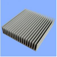 Buy cheap Silver Mill Finished Aluminum Heatsink Extrusion Profiles product