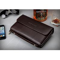 Buy cheap Hot Sale Real Leather Wallet Card Holder Hand Clutches Bag from wholesalers
