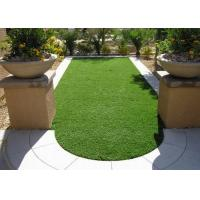 Buy cheap Garden Recycled Natural Artificial Grass Diamond Shape 14700 Density from wholesalers