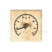 Buy cheap Solid Wooden Thermometer Hygrometer Temperature for Dry Sauna Room Accessories product