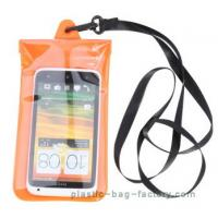 Buy cheap Soft PVC Waterproof Pouch Bag Colorful Cover Guaranteed Submersible To 19ft / 6m product