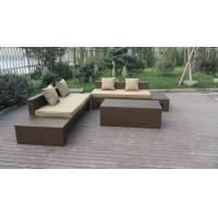 Buy cheap Plastic Rattan Furniture Soft Set With 100x100x70cm Middle Sofa product