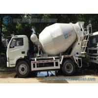 Buy cheap 4 x 2 type 3 cubic meters  Mini Concrete Mixer Pump Truck with  Manual Control  For sale product