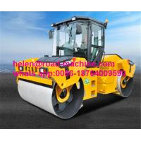 Buy cheap Unique Heavy Construction Machinery , XCMG 12 Ton Double Drum Vibration Roller Mount Type XD123 product