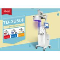 Buy cheap Three Wavelength  Hair Loss Treatment Machine LED Light Color Touch Sreen Diode Laser product